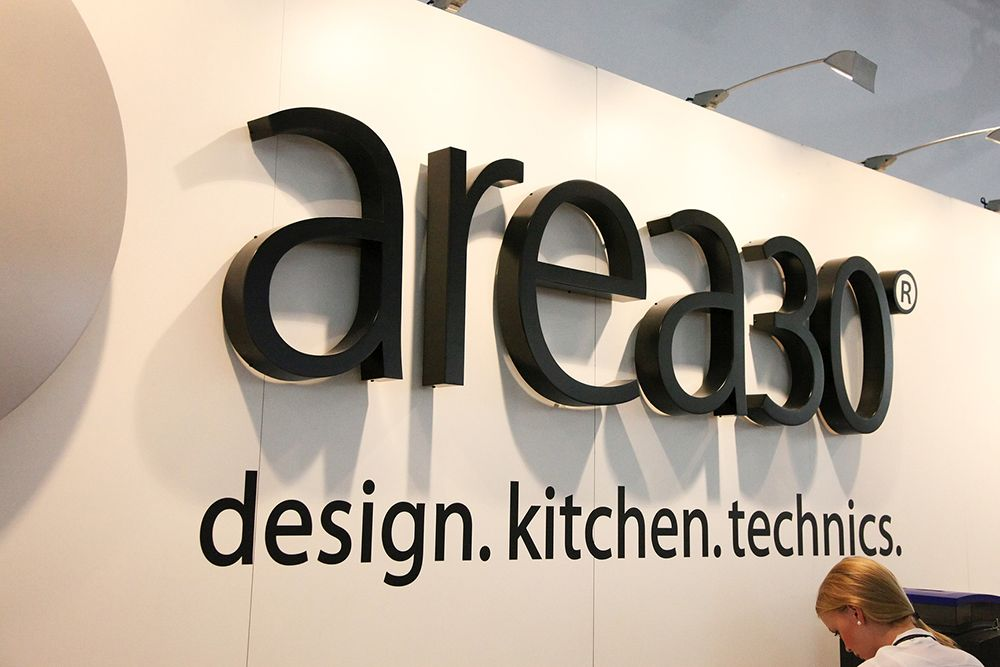 AREA 30 - trade fair<br>kitchen. techniques. design.