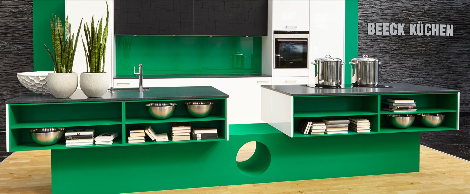 Beeck kitchen - living space kitchen