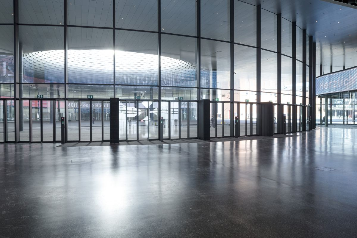GEZE_Messe_Basel_Foyer