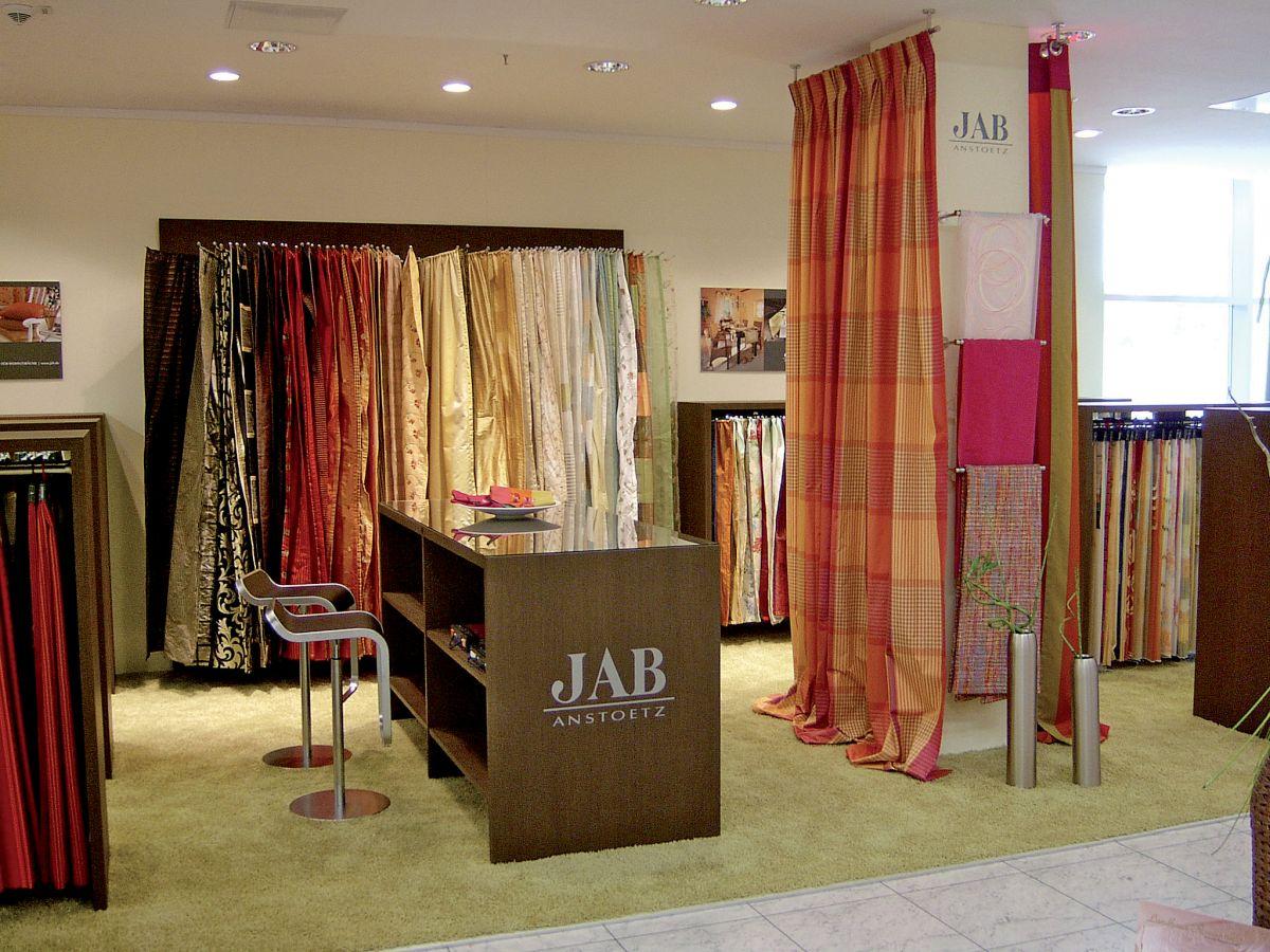 Jab Showroom Bielefeld jab anstoetz - fabrics - flooring - plissees