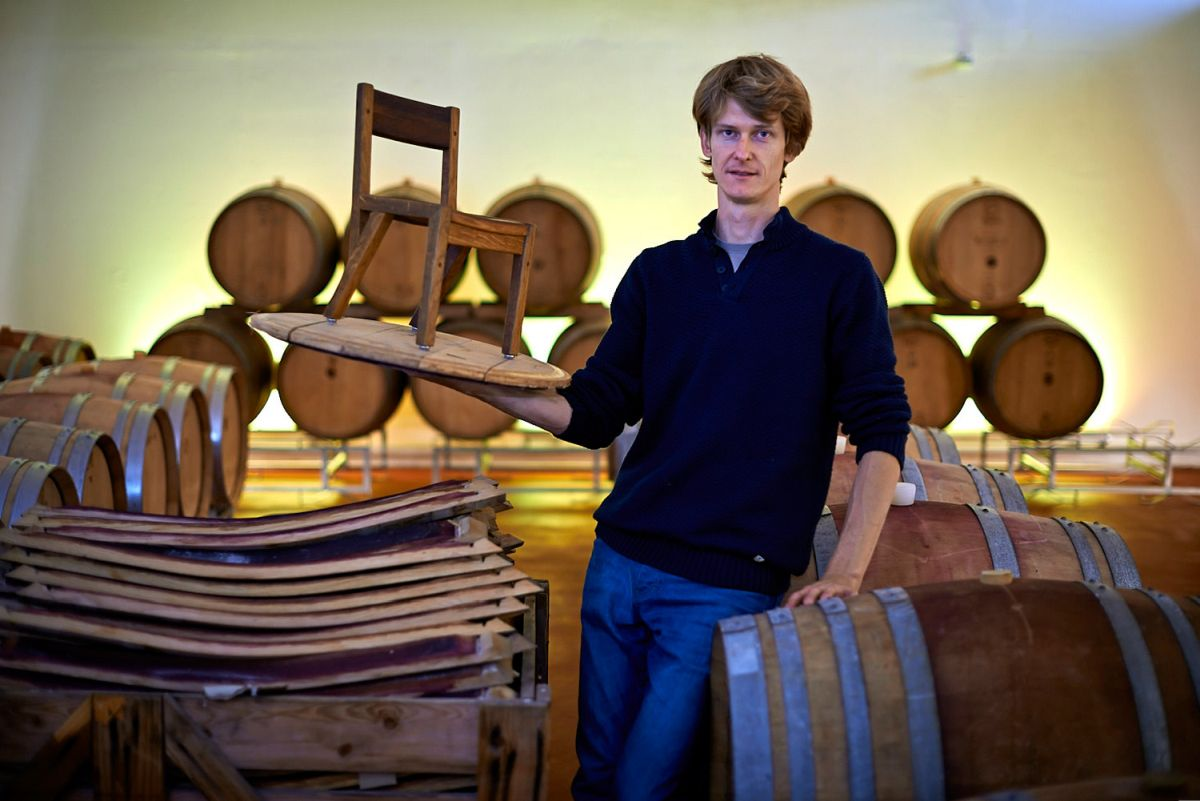 MAGNUS MEWES<br>old barriques upcycled