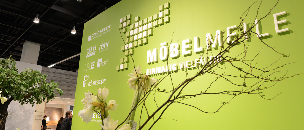 MOEBELMEILE - trade fair<br>homeshow of German quality furniture