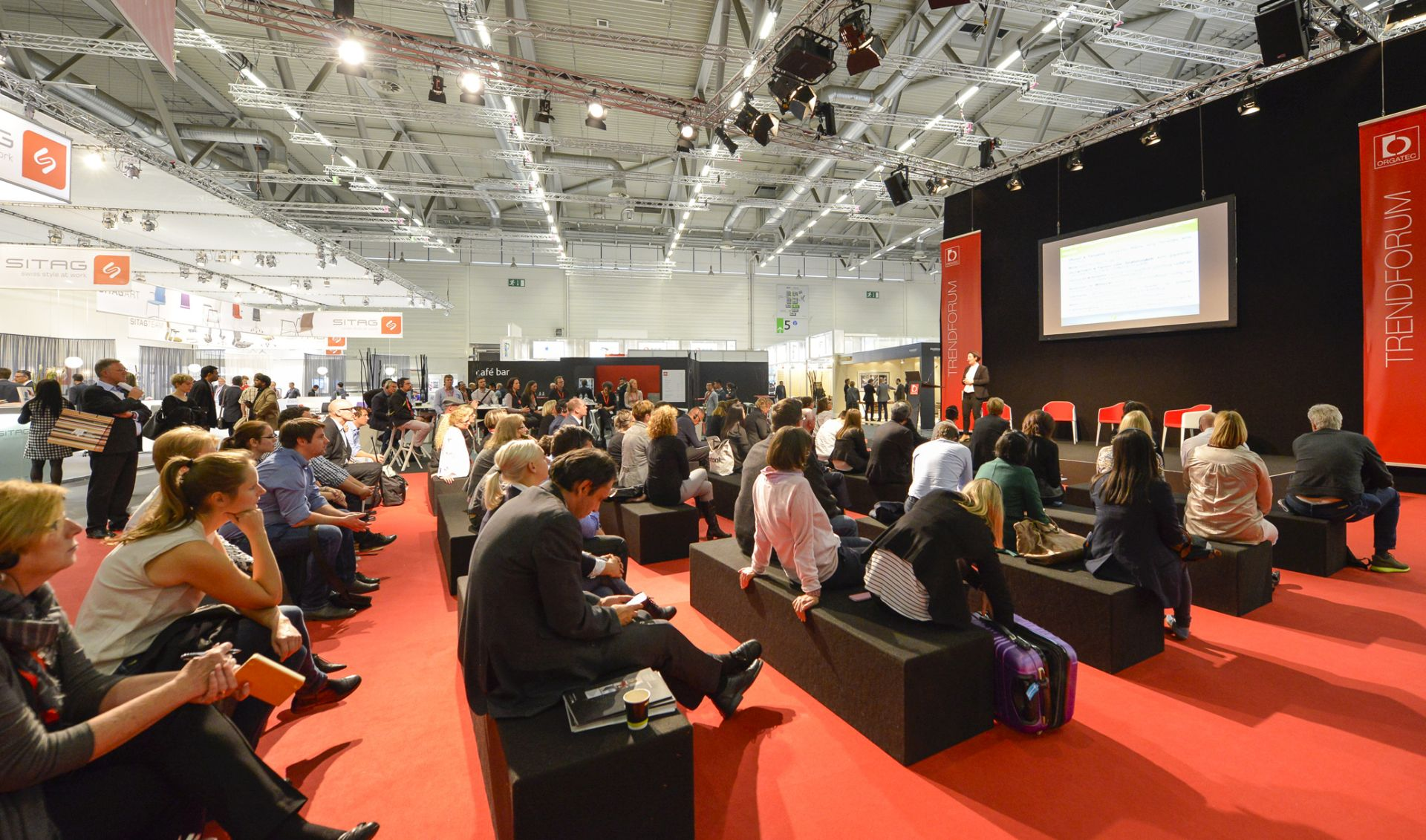 ORGATEC - trade fair - new visions of office work