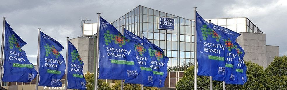 SECURITY ESSEN - trade fair<br>security for buildings - public areas - fire protection - CCTV